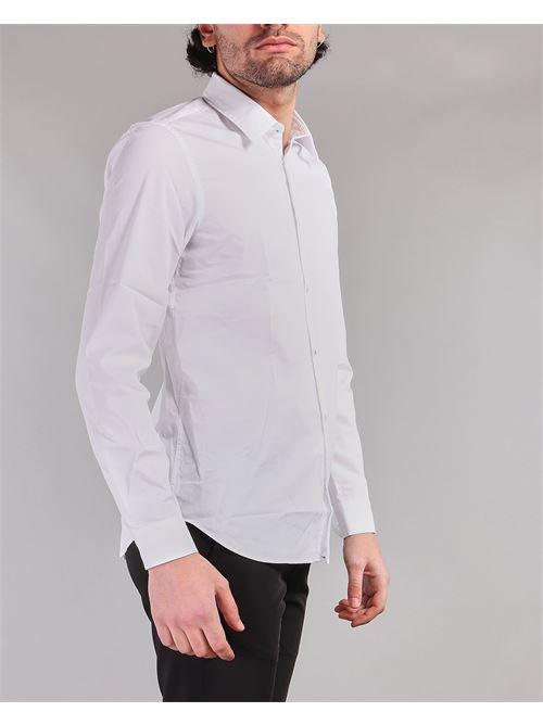 Camicia con impuntura bottone colorata Manuel Ritz MANUEL RITZ | Camicia | 3032E600L2132272