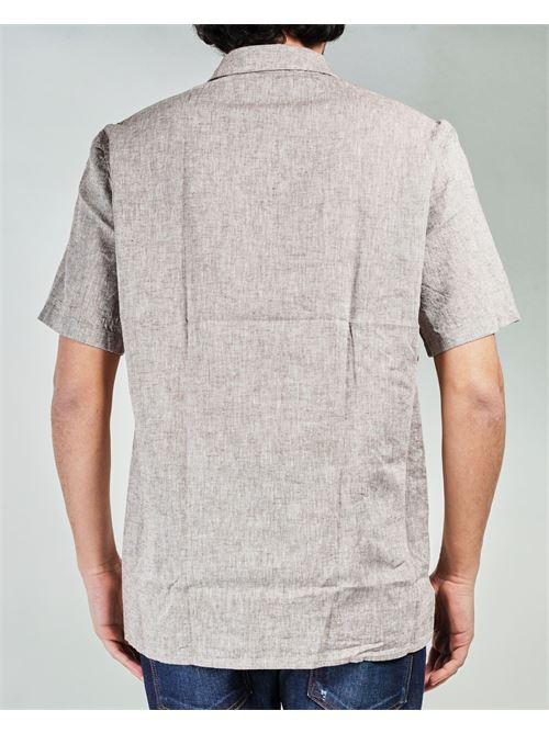 Camicia di lino a maniche corte Manuel Ritz MANUEL RITZ | Camicia | 3032E607L21323725