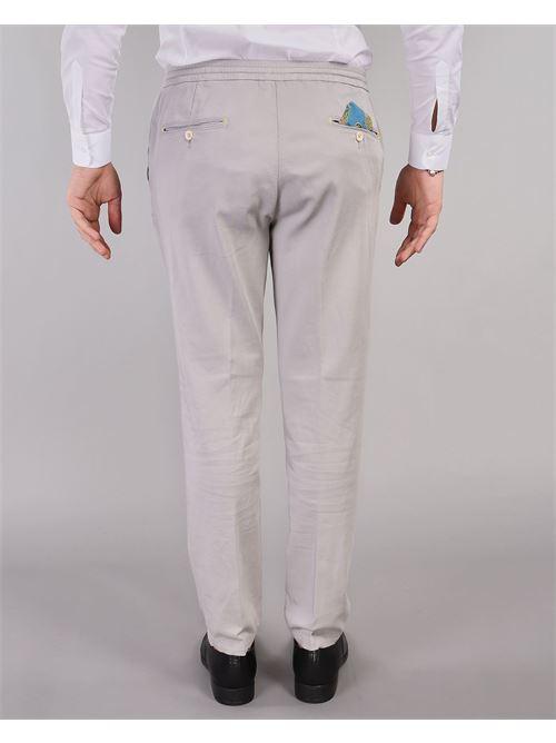 Pantalone con elastico in vita Manuel Ritz MANUEL RITZ | Pantalone | 3032P1688T21300693