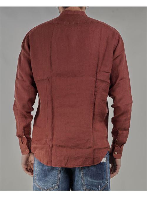 Camicia in lino con collo coreano Mastricamiciai MASTRICAMICIAI | Camicia | FS049MC30950