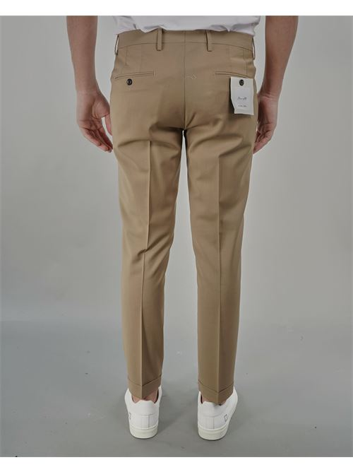 Pantalone in fresco lana Michael Coal MICHAEL COAL | Pantalone | BRAAM03667S21CBEIGE