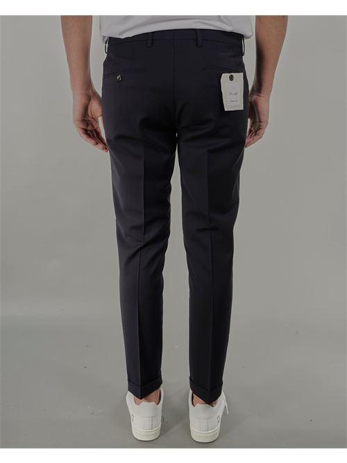 Pantalone in fresco lana Michael Coal MICHAEL COAL | Pantalone | BRAAM03667S21CBLU