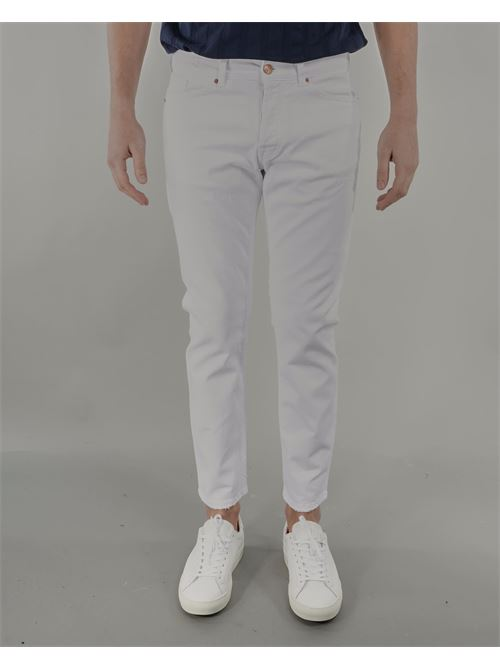 Jeans in bull di cotone Michale Coal MICHAEL COAL | Jeans | DAV2824W471CBIANCO