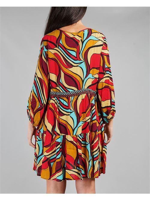 Kaftano a stampa geometrica Miss Bikini MISS BIKINI | Kaftano | V1002DGERO