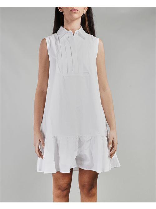 Abito corto a camicia in cotone Nenette NENETTE | Abito | ANITA1
