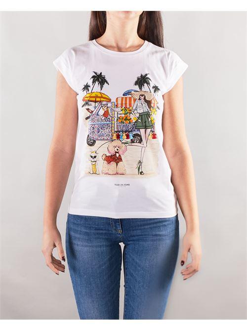 T-shirt con stampa Nenette NENETTE | T-shirt | DAKOTA1