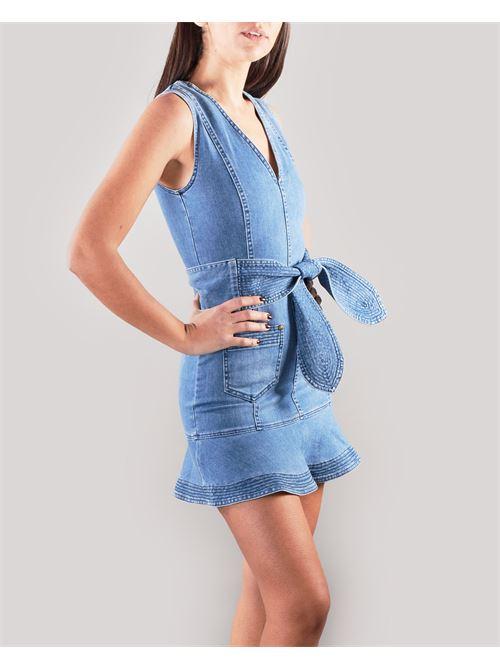 Abito di jeans con cintura Nenette NENETTE | Abito | SALLY474