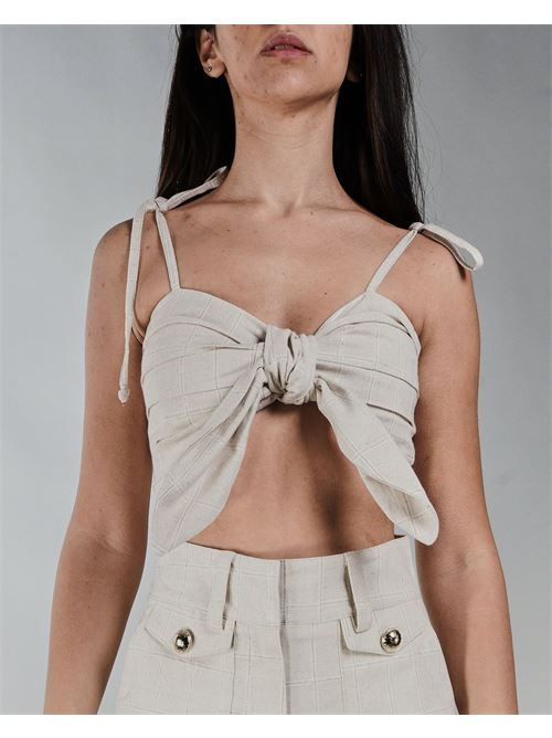 Top cropped Never Be The Same NEVER BE THE SAME | Top | 21010BEIGE