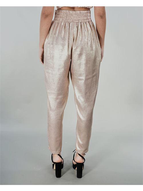 Pantalone laminato Never Be The Same NEVER BE THE SAME | Pantalone | 21013CREMA