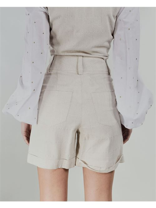 Shorts vita alta Never Be The Same NEVER BE THE SAME   Shorts   21038BEIGE