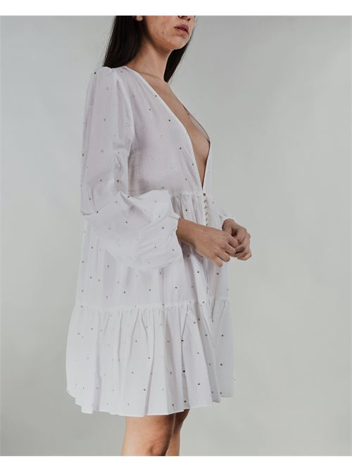 Abito in cotone Never Be The Same NEVER BE THE SAME | Abito | 21095BIANCO