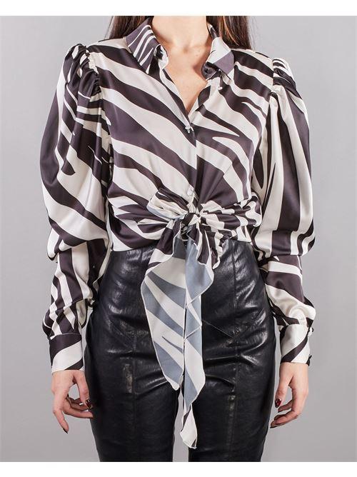 Camicia Bow Nineminutes NINEMINUTES | Camicia | BOWBIANCO-NERO