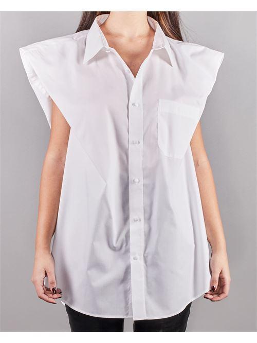 Camicia con manica ampia Nineminutes NINEMINUTES | Camicia | ZETABIANCO