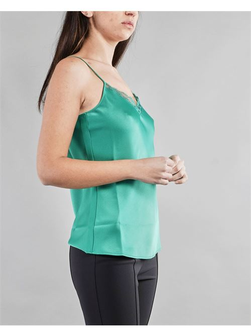 Top in envers satin Penny Black PENNY BLACK | Top | COCENTE3