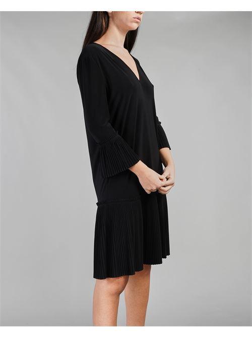 Abito in jersey con plissè Penny Black PENNY BLACK | Abito | REGATA4