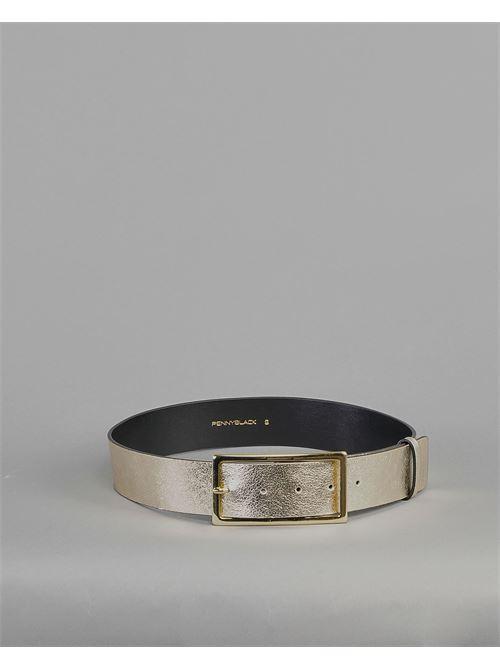 Cintura in pelle laminata Penny Black PENNY BLACK | Cintura | STACCATO1