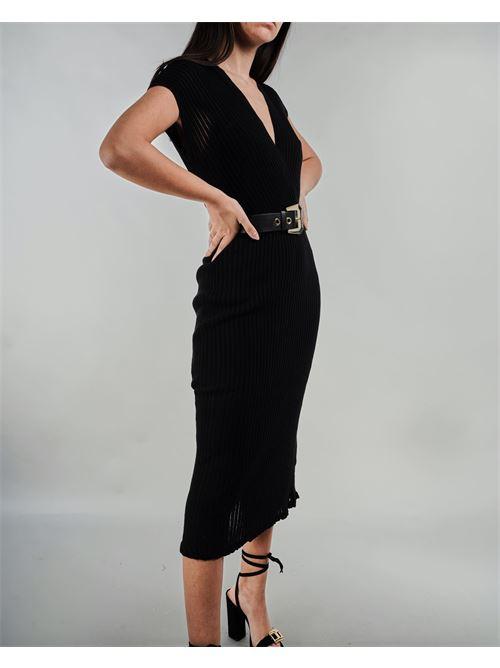 Abito in maglia con cintura Simona Corsellini SIMONA CORSELLINI | Abito | ABS0101C02200143
