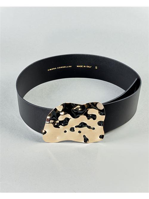 Cintura con fibbia iconica Simona Corsellini SIMONA CORSELLINI | Cintura | CIJ0201C01000043