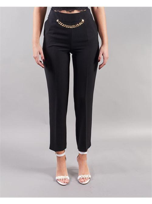 Pantalone con accessorio Simona Corsellini SIMONA CORSELLINI | Pantalone | PA02601TCRP00023