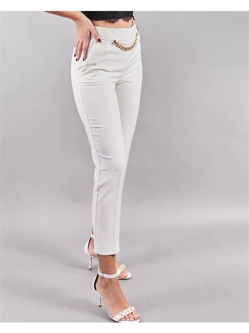 Pantalone con accessorio Simona Corsellini SIMONA CORSELLINI | Pantalone | PA02601TCRP0002359