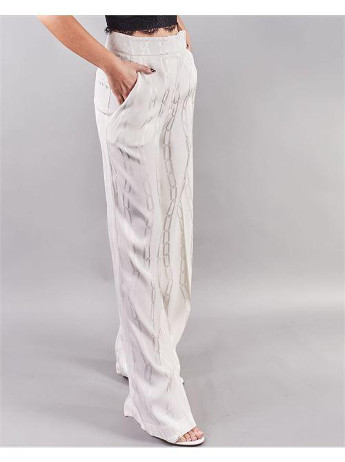 Pantalone stampa catene Simona Corsellini SIMONA CORSELLINI | Pantalone | PA03201TJAQ0020359