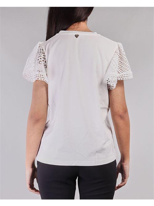 T-shirt con maniche in pizzo Twinset TWIN SET | Camicia | TT222A1