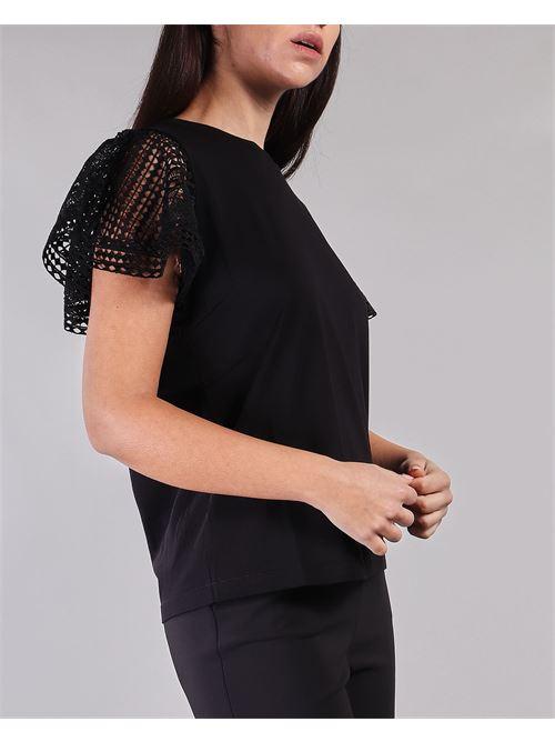 T-shirt con maniche in pizzo Twinset TWIN SET | Camicia | TT222A6