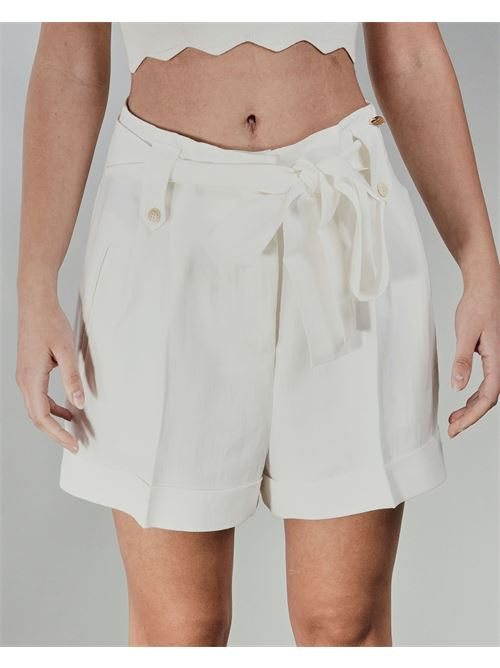 Shorts in misto lino Twinset TWIN SET | Shorts | TT2586827