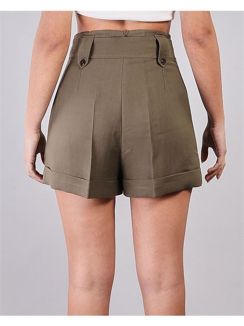 Shorts in misto lino Twinset TWIN SET | Shorts | TT2586914