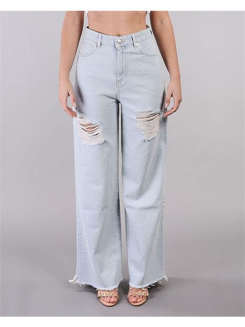 Jeans palazzo con rotture Vicolo VICOLO | Jeans | DH0104DENIM