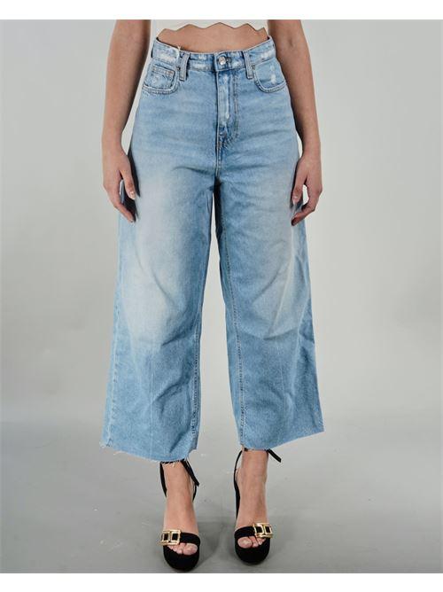 Jeans cropped in denim Vicolo VICOLO | Jeans | DH0170DENIM