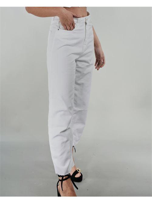 Jeans cropped inbull di cotone Vicolo VICOLO | Jeans | DH0179BIANCO
