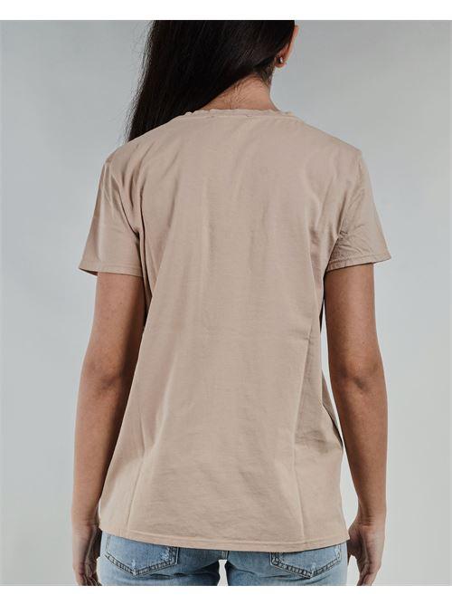 T-shirt con logo in strass Vicolo VICOLO | T-shirt | RH0031BEIGE