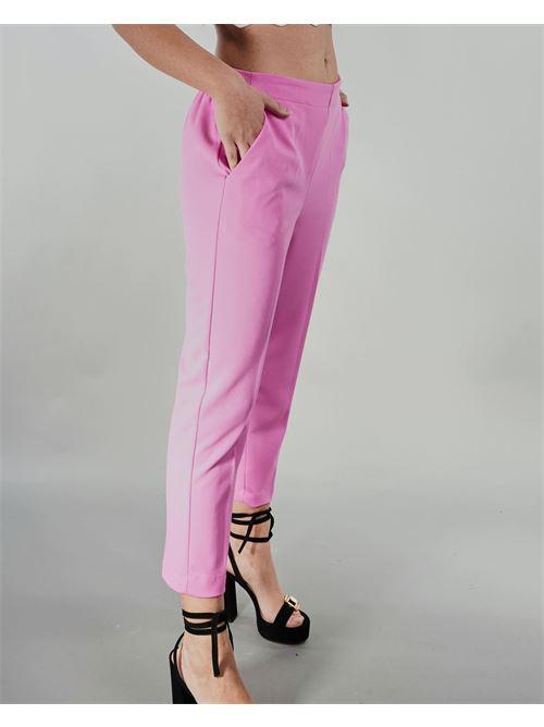 Pantalone con elastico in vita Vicolo VICOLO | Pantalone | TH0746ROSA