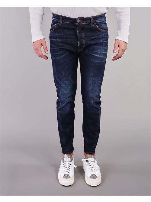 Jeans con leggere scambiature Yes London YES LONDON | Jeans | XJ2944DENIM