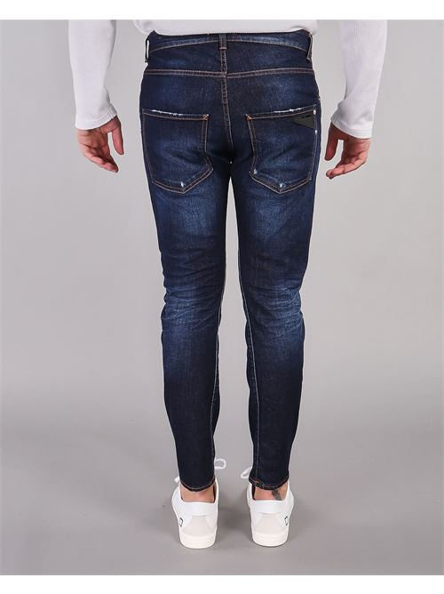 Jeans con leggere scambiature Yes London YES LONDON | Jeans | XJ2944DENIM