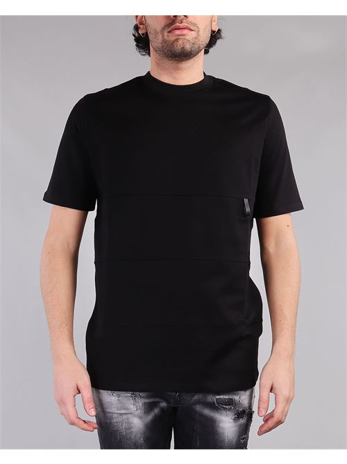 T-shirt in cotone di Yes London YES LONDON | T-shirt | XM3864NERO