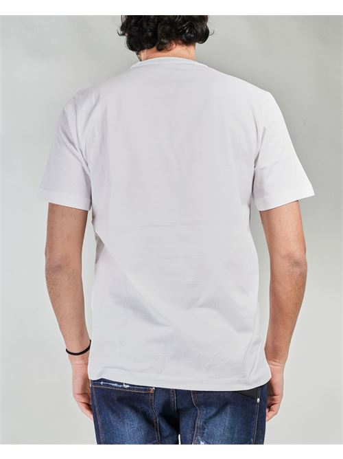 T-shirt con taschino e patch logo Yes London YES LONDON | T-shirt | XM3886BIANCO