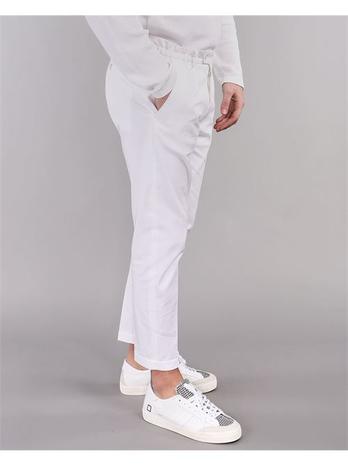 Pantalone con risvolto Yes London YES LONDON | Pantalone | XP2850BIANCO