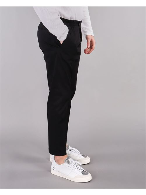 Pantalone con risvolto Yes London YES LONDON | Pantalone | XP2850NERO