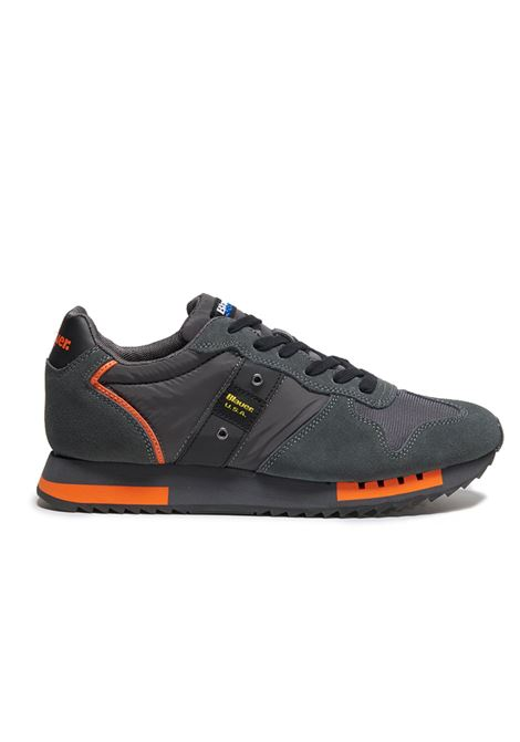 BLAUER SNEAKERS F0QUEENS01/MES QUEENS01 DKG DARK GREY Blauer | Sneakers | F0QUEENS01/MESDARK GREY