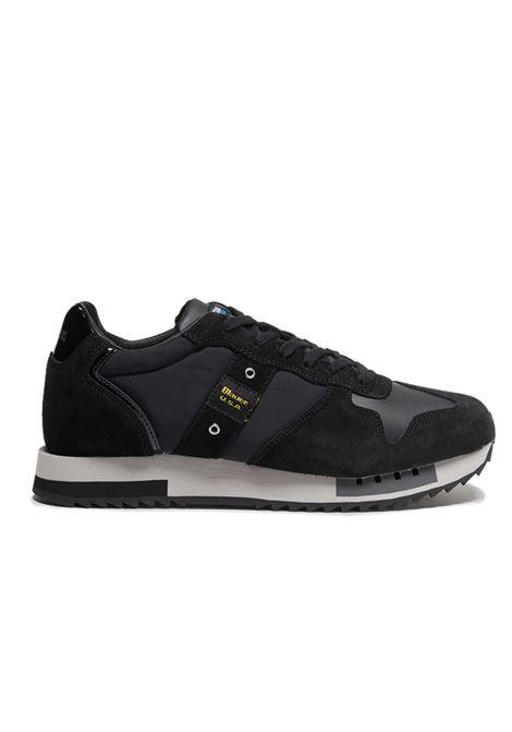 BLAUER SNEAKERS F0QUEENS01/TAS  QUEENS01 BBK BLACK/BLACK Blauer | Sneakers | F0QUEENS01/TASBLACK