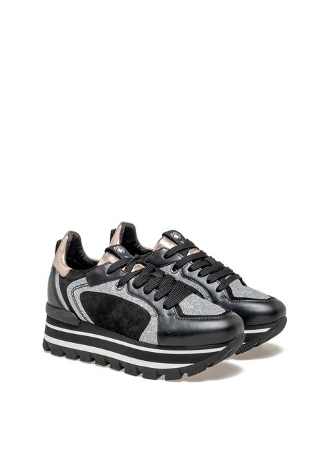 JANET SPORT SNEAKERS 46652 NERO --SCARPA BARDANA/ROVO NERO/NERO F 182 Janet Sport | Sneakers | 46652NERO