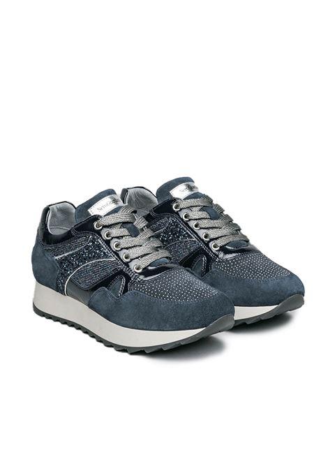 NERO GIARDINI SNEAKERS  I013190D /207 VELOUR INCANTO 225 NAPLAK BLU 0886 T.BURT BLU 6 Nero Giardini | Sneakers | I013190D207