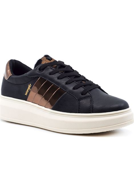 WRANGLER SNEAKERS WL02680A 435- JOLIN MIRROR 435 BLACK/BRONZE Wrangler | Sneakers | WL02680A435