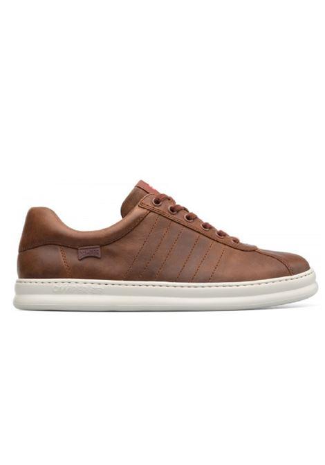 Scarpa Camper uomo Runner K100227 brown Camper | Sneakers | K100227OILYLUSION COLA