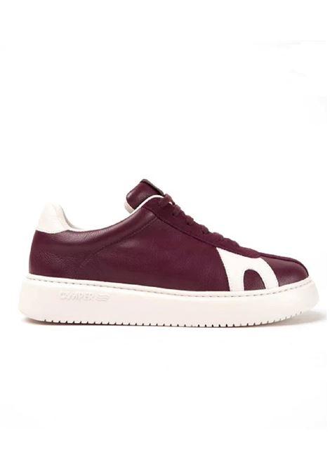 Scarpa Camper uomo Runner K21 K100743 001 burgundy Camper | Sneakers | K100743RUG GARNET