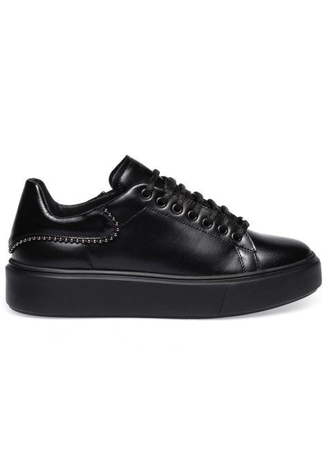 Sneakers Frau donna 41L4 Dylan pelle nera FRAU | Sneakers | 41L4DYLAN NERO