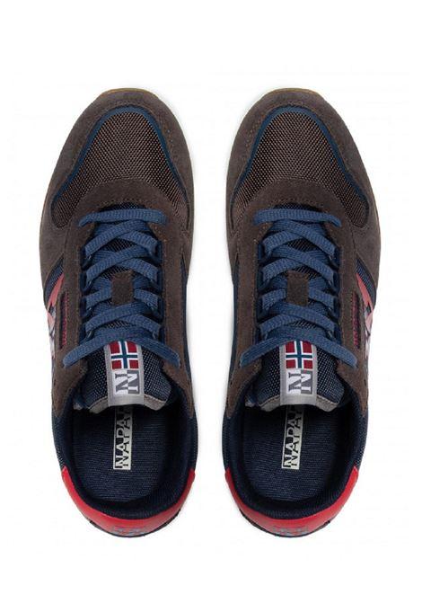 Sneaker Napapijri uomo Virtus Camo NP0A4G8C  brown Napapijri | Sneakers | NP0A4G8CRAINDRUM
