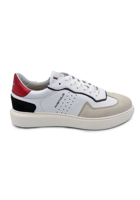 AMBITIOUS SNEAKERS 10610-1381 AM SAND/WHITE/RED Ambitious | Sneakers | 10610SAND/WHITE/RED